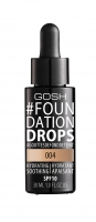 GOSH - FOUNDATION DROPS - Podkład nawilżająco-wygładzający - 004 - NATURAL - 004 - NATURAL