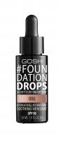 GOSH - FOUNDATION DROPS - Podkład nawilżająco-wygładzający - 006 - TAWNY - 006 - TAWNY