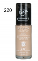Revlon - podkład ColorStay cera tłusta i mieszana - 220 Natural Beige - 220 Natural Beige