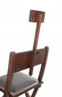 Krzesło wizażysty - BRĄZOWE