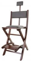 Makeup chair - BROWN