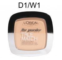 L'Oréal - The powder - TRUE MATCH - Puder - D1-W1 - GOLDEN IVORY