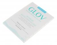 GLOV - HYDRO DEMAQUILLAGE - ON-THE-GO - COLOR EDITION - Rękawica do demakijażu i oczyszczania skóry - BOUNCY BLUE