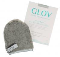 GLOV - HYDRO DEMAQUILLAGE - ON-THE-GO - COLOR EDITION - Rękawica do demakijażu i oczyszczania skóry - GLAM GREY