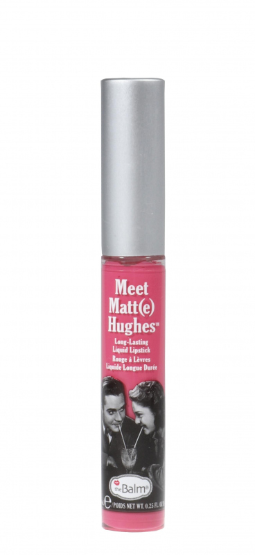 the balm meet matte hughes lip color chivalrous pronunciation