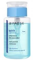 PAESE - QUICK & EASY - Nail polish remover - Zmywacz do paznokci z olejem rycynowym - 150 ml