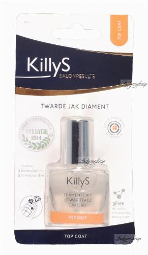 KillyS - DIAMOND HARDENER TOP COAT - Diamentowy utwardzacz lakieru - 807