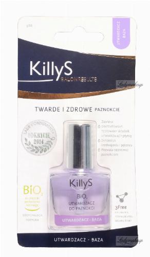 KillyS - BIO2 NAIL HARDENER - BIO2 utwardzacz - baza do paznokci - 968