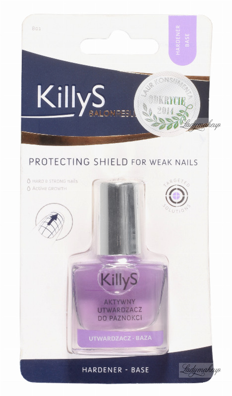 KillyS - ACTIVE NAIL HARDENER - Base Coat - 801
