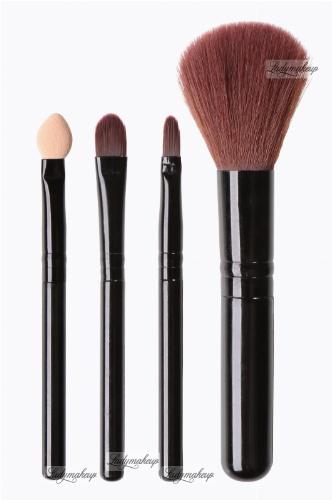 Inter-Vion - Zestaw 4 przyborów do makijażu - MINI - 499371