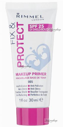 RIMMEL - FIX & PROTECT - MAKEUP PRIMMER - Rozświetlająca baza pod makijaż