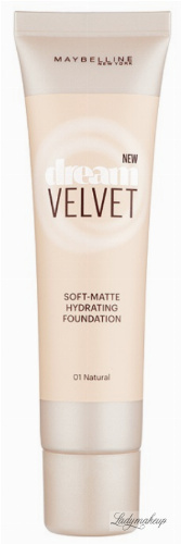 MAYBELLINE - DREAM VELVET - SOFT-MATT HYDRATING FOUNDATION - Podkład matujący