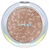 VIPERA - ART OF COLOR - COMPACT POWDER - Puder brązujący z drobinami - COLLAGE BRONZER - 401