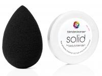 Beautyblender - Gąbka do aplikacji kosmetyków + MINI mydełko Solid - PRO