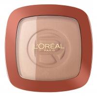 L'Oréal - GLAM BRONZE - Bronzer + rozświetlacz