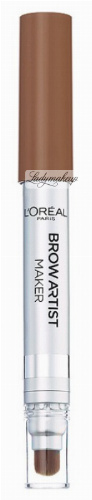 L'Oréal - BROW ARTIST MAKER - Kredka do brwi z pędzelkiem