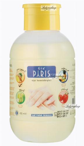 Golden Rose - GIA PARIS - NAIL POLISH REMOVER - Perfumowany zmywacz do paznokci - PINEAPPLE - 450 ml - ZMYW-S451