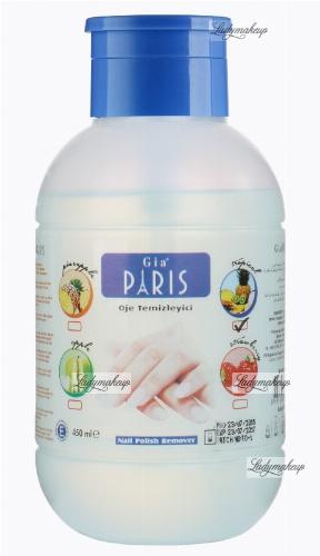 Golden Rose - GIA PARIS - NAIL POLISH REMOVER - Perfumowany zmywacz do paznokci - TROPICAL - 450 ml - ZMYW-S453
