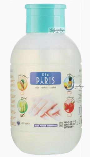Golden Rose - GIA PARIS - NAIL POLISH REMOVER - Perfumowany zmywacz do paznokci - APPLE - 450 ml - ZMYW-S450