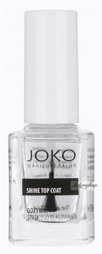 JOKO - SHINE TOP COAT - Nabłyszczający preparat nawierzchniowy do paznokci