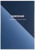 KRYOLAN - PROFESSIONAL MAKE-UP CHARTS - Szablony do projektowania makijażu - ART. 77725