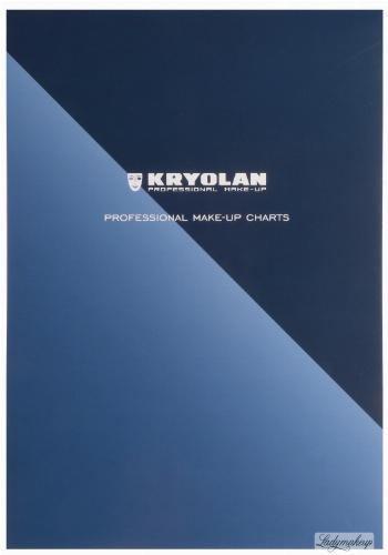 KRYOLAN - PROFESSIONAL MAKE-UP CHARTS - Make-up Templates - ART. 77725