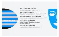 KRYOLAN - GLATZAN BALD CAP - Łysina z bezbarwnego Glatzanu - ART. 62500