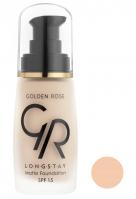 Golden Rose - LONGSTAY MATTE FOUNDATION - Długotrwały, matujący podkład do twarzy - P-GLM - 01 - 01