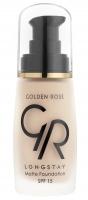 Golden Rose - LONGSTAY MATTE FOUNDATION - Długotrwały, matujący podkład do twarzy - P-GLM