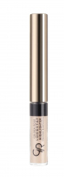 Golden Rose - LONGSTAY HIGHLIGHTER Shimmer Eyeshadow - Rozświetlacz do twarzy z pędzelkiem - K-GLH - 01 - 01