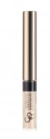 Golden Rose - LONGSTAY HIGHLIGHTER Shimmer Eyeshadow - Rozświetlacz do twarzy z pędzelkiem - K-GLH - 02 - 02
