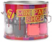 W7 - MINI PAINT SHOP - Zestaw mini lakierów do paznokci