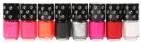 W7 - MINI PAINT SHOP - Set of mini nail varnishes