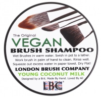 KRYOLAN - LBC VEGAN BRUSH SHAMPOO - YOUNG COCONUT MILK - Szampon do pędzli - NEUTRALNY - ART. 8850 N