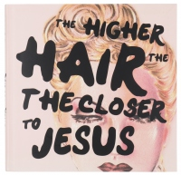 KRYOLAN - THE HIGHER THE HAIR THE CLOSER TO JESUS - Książka - ART. 7056