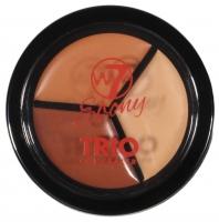 W7 - EBONY TRIO CONCEALER - Potrójny korektor