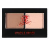 W7 - EBONY - SHAPE & DEFINE - Paleta do konturowania twarzy - LIGHT - LIGHT
