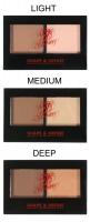 W7 - EBONY - SHAPE & DEFINE - Paleta do konturowania twarzy