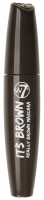 W7 - IT'S BROWN REALLY BROWN MASCARA - Brązowa maskara