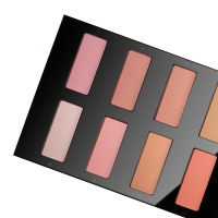 Pierre René - ROUGE POWDER - Professional palette of 14 blushers