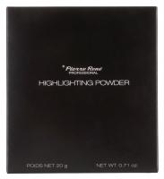 Pierre René - HIGHLIGHTING POWDER - Rozświetlający puder do twarzy i ciała