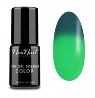 NeoNail - UV GEL POLISH COLOR - THERMO COLOR - Lakier hybrydowy - TERMICZNY - 6 ml i 7,2 ml - 5187-1 - GREEN LANTERN - 5187-1 - GREEN LANTERN