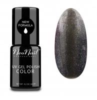 NeoNail - UV GEL POLISH COLOR - GALAXY GLITTER - Lakier hybrydowy - BROKATOWY - 6 ml - 5013-1 - SILVERY MOON - 5013-1 - SILVERY MOON