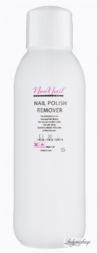 NeoNail - NAIL POLISH REMOVER - Zmywacz do paznokci - 550 ml - ART. 1055