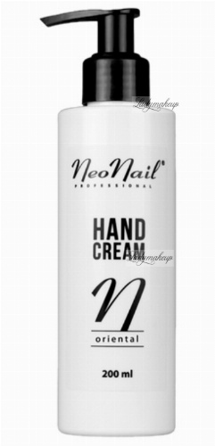 NeoNail - HAND CREAM - ORIENTAL - Krem do rąk - 200 ml - ART. 1612