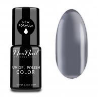 NeoNail - UV GEL POLISH COLOR - GRUNGE - Lakier hybrydowy - 6 ml i 7,2 ml - 3196-1 - SILVER DREAM - 3196-1 - SILVER DREAM