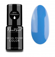 NeoNail - UV GEL POLISH COLOR - GRUNGE - Lakier hybrydowy - 6 ml - 3643-1 - MUTED BLUE - 3643-1 - MUTED BLUE