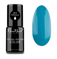 NeoNail - UV GEL POLISH COLOR - GRUNGE - Lakier hybrydowy - 6 ml - 3652-1 - WORK BLUE - 3652-1 - WORK BLUE