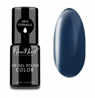 NeoNail - UV GEL POLISH COLOR - GRUNGE - Lakier hybrydowy - 6 ml - 3765-1 - DARK GRAPHITE - 3765-1 - DARK GRAPHITE