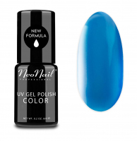NeoNail - UV GEL POLISH COLOR - GRUNGE - Lakier hybrydowy - 6 ml - 3768-1 - PARISIAN BLUE - 3768-1 - PARISIAN BLUE